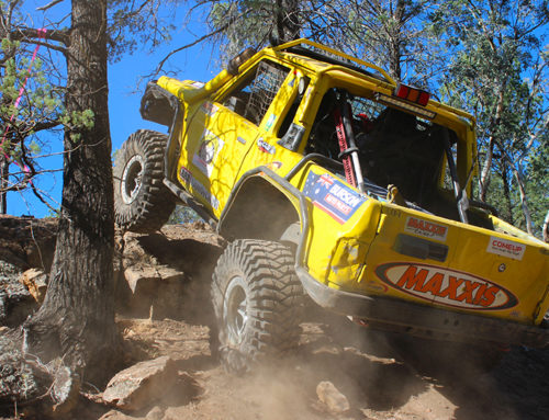 4WD Winch Challenge Heats up in Cold Conditions
